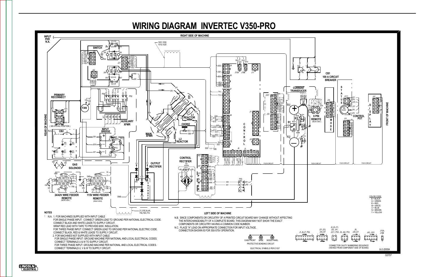 lincoln sa 200 wiring diagram for sony stereo ac 225 welder remote