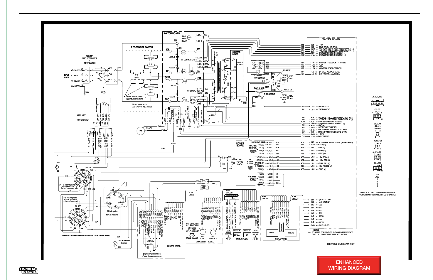 Electrical diagrams, Enhanced wiring diagram, Schematic