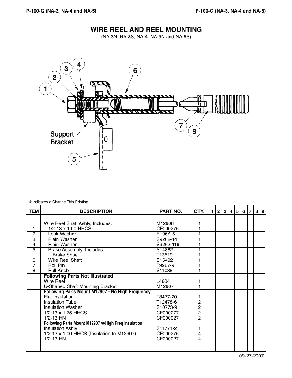medium resolution of wire reel and reel mounting lincoln electric na 5 im305 c user manual