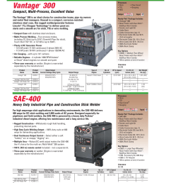 vantage sae 400 compact multi process excellent value lincoln electric ac 225c user manual page 54 168 [ 954 x 1209 Pixel ]