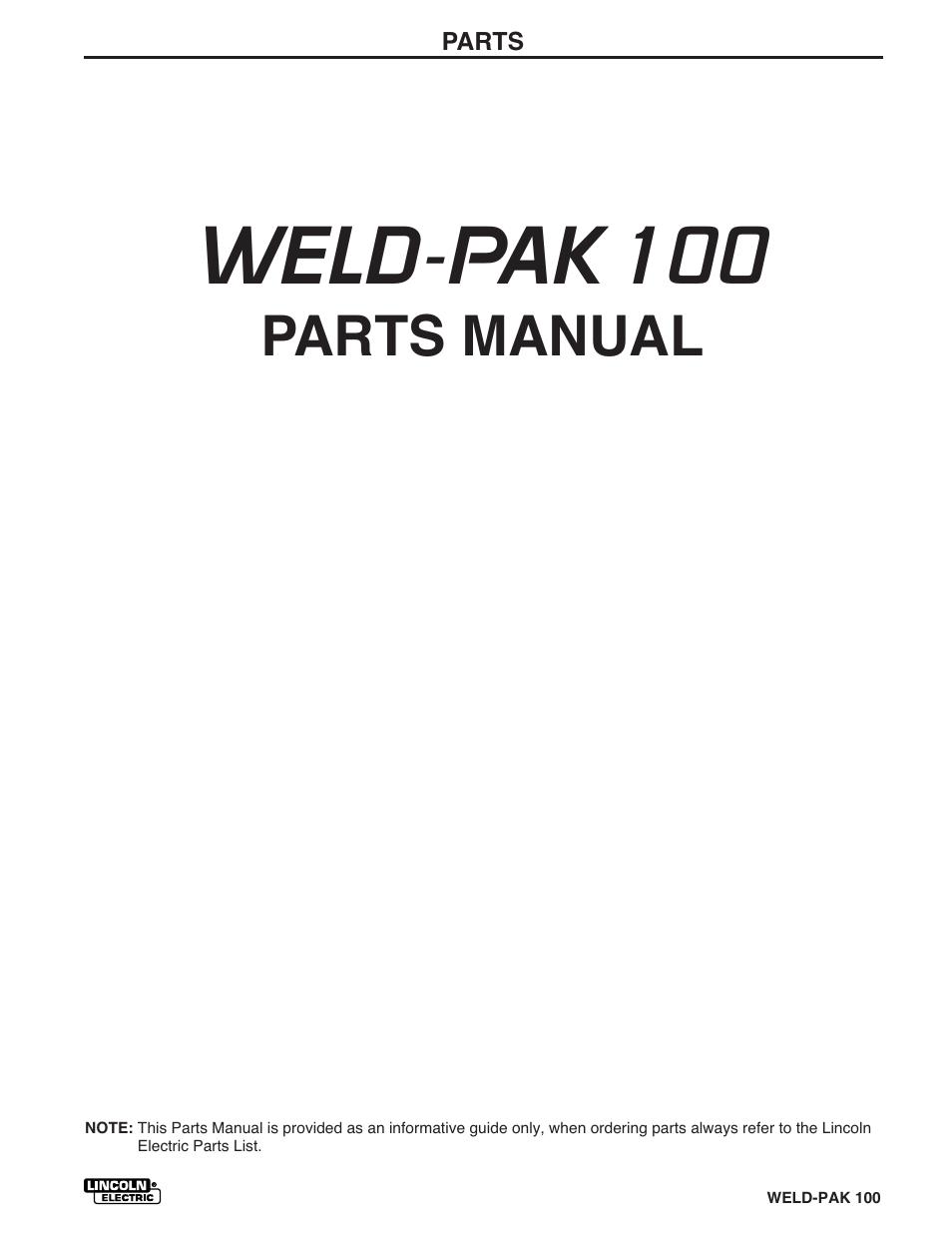 lincoln electric welder parts diagram lx torana tacho wiring weld pak 100 manual pack plus im546 user page 47 60