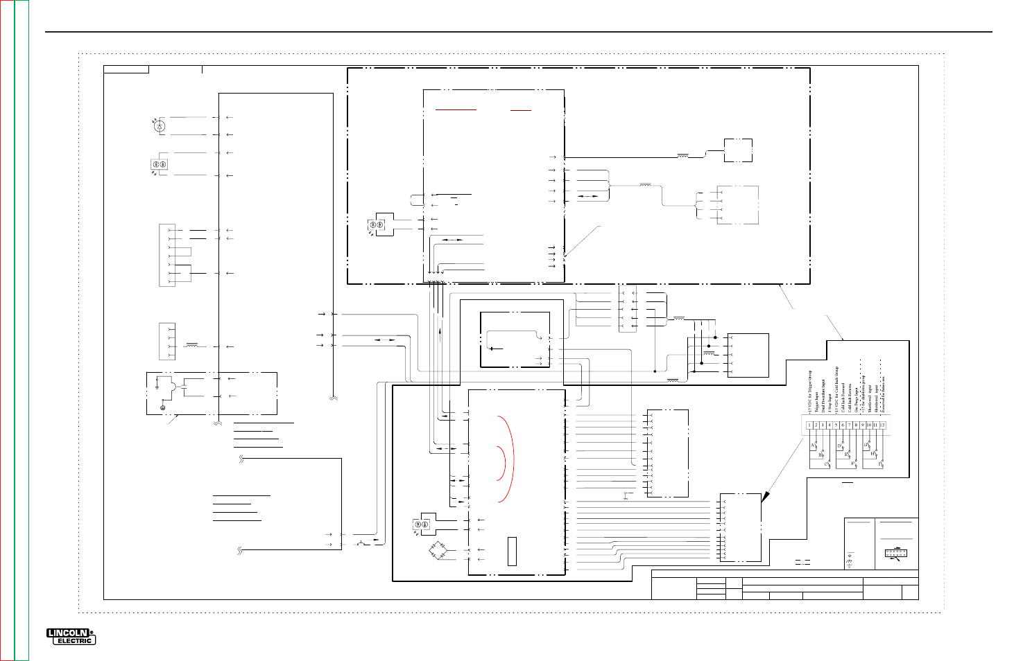 Electrical diagrams, Schematic numbers are given for