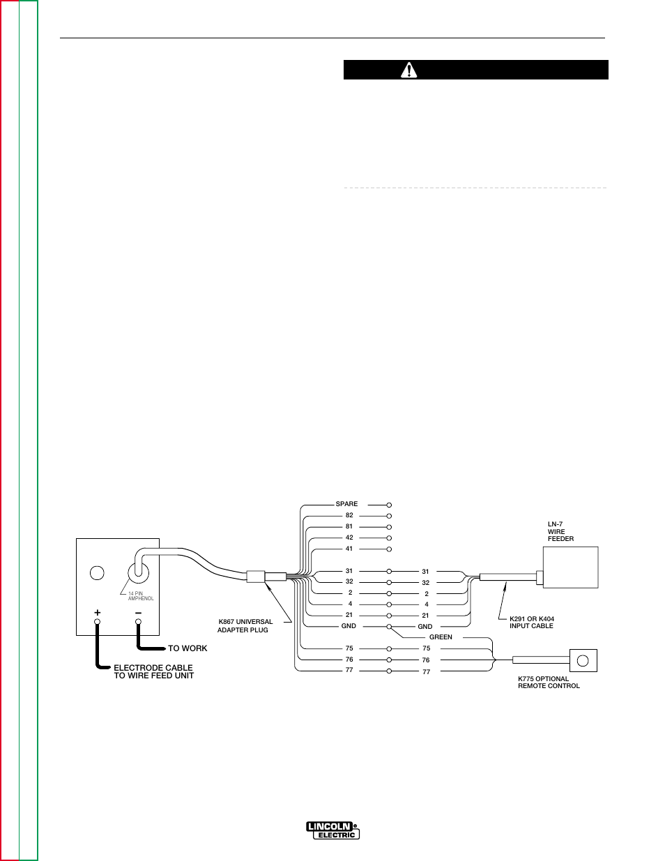 hight resolution of accessories caution lincoln electric commander svm153 a user manual page 30 156