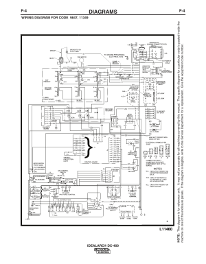 Diagrams | Lincoln Electric IDEALARC DC400 User Manual | Page 36  42