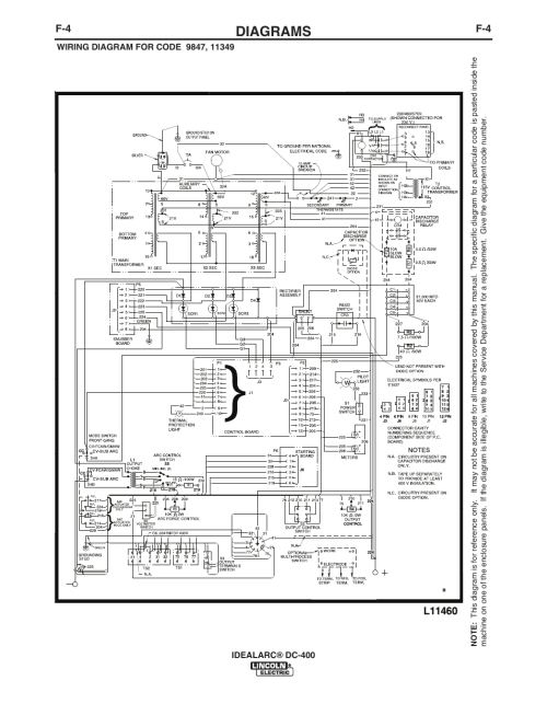 small resolution of lincoln dc 400 wiring diagram house wiring diagram symbols u2022 lincoln sa 250 ac dc