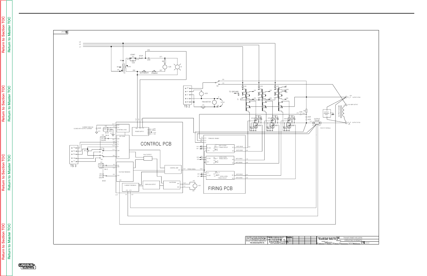110 Electrical Schematic Wiring Diagram Electrical Diagrams Operating Schematic Idealarc Dc1000