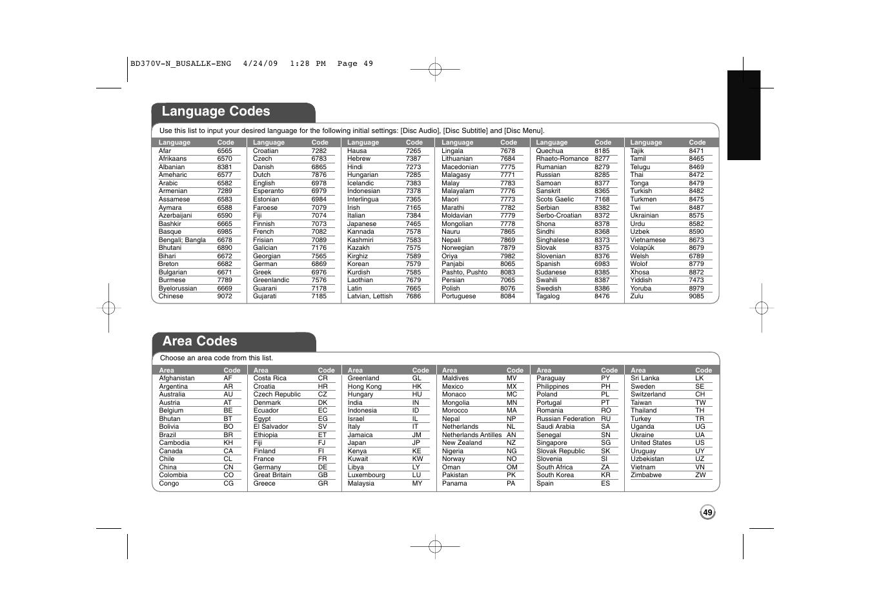 Bd370 user manual