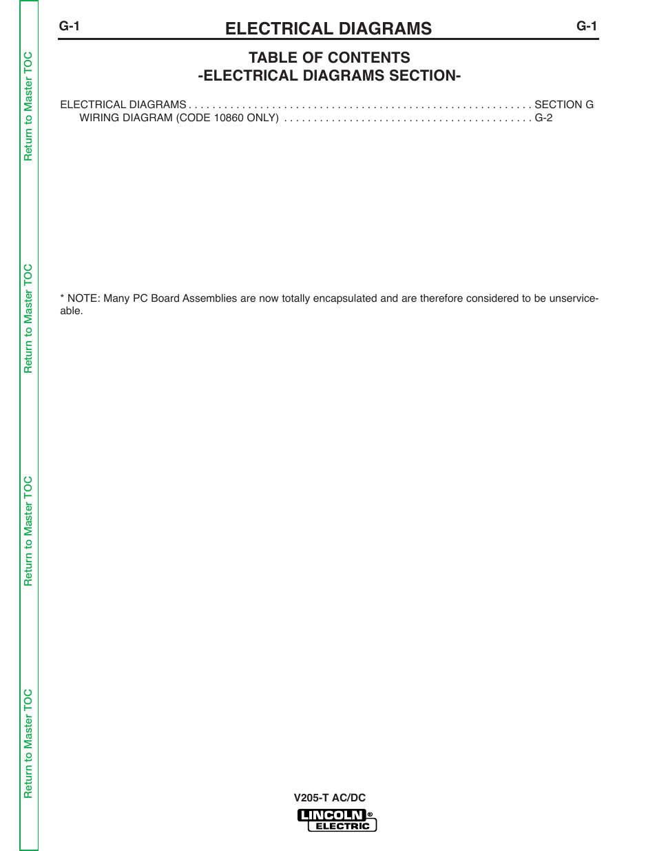 medium resolution of electrical diagrams lincoln electric invertec v205 t user manual page 107 109