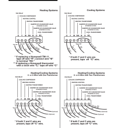 wiring diagrams heating systems cooling systems lux products t10 1143sa user manual page 2 4 [ 954 x 1227 Pixel ]