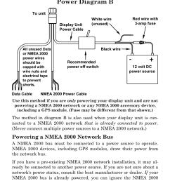 power diagram powering a nmea network bus lowrance electronic user manual page png 954x1487 lowrance nmea [ 954 x 1487 Pixel ]