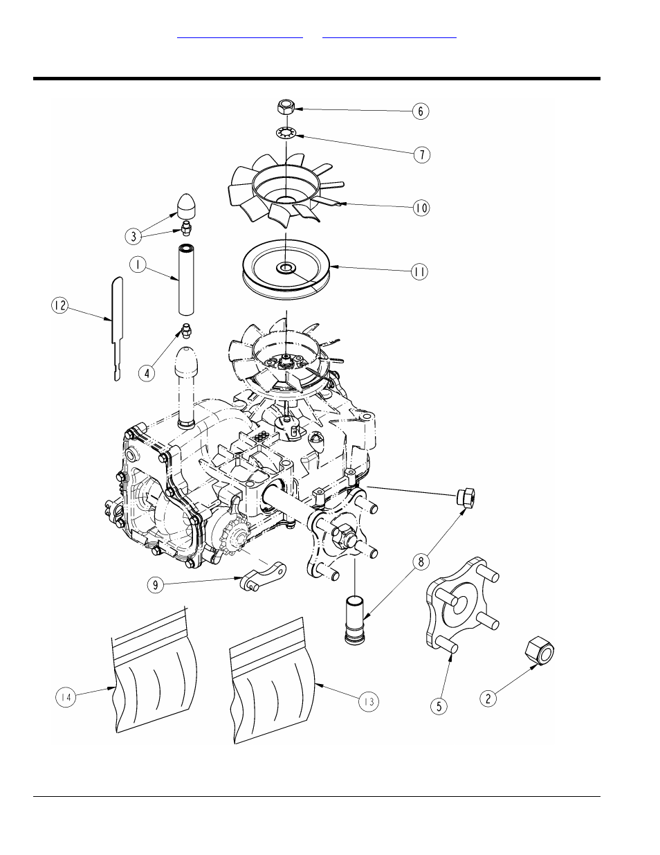 Transmission components 356-548s and 356-549s, Table of