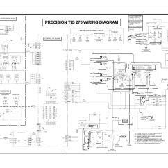 Hobart Welder Wiring Diagram Hunter Ceiling Fan Light Switch Precision Tig 275 Diagram, Electrical Diagrams, | Lincoln Electric ...