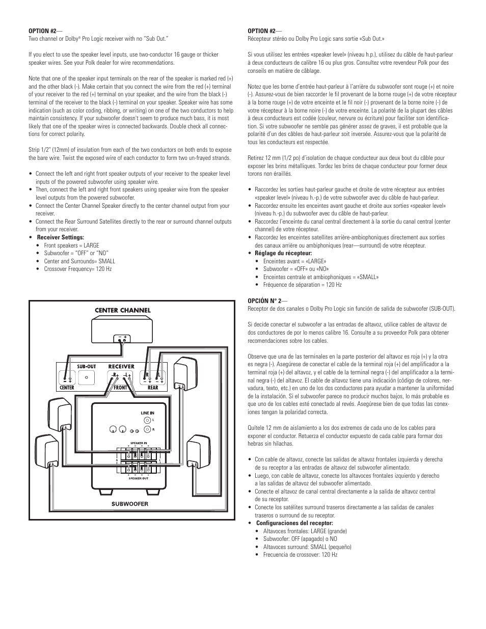 medium resolution of polk audio powered subwoofer psw108 user manual page 6 8