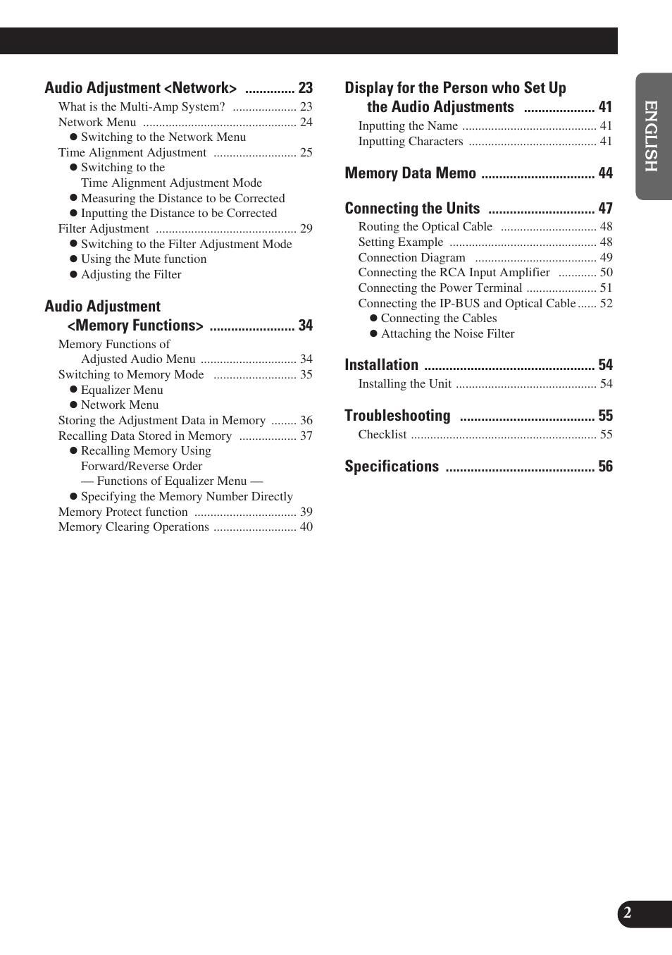medium resolution of audio adjustment network installation troubleshooting pioneer deq p9 user manual page 3 60
