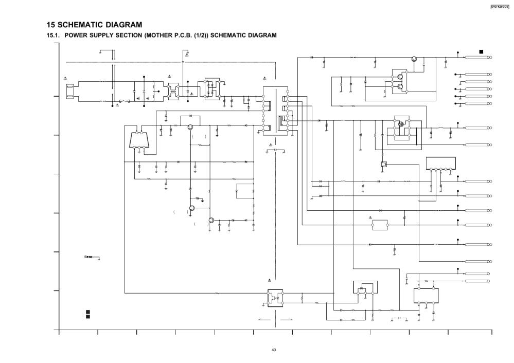 medium resolution of 15 schematic diagram cold hot panasonic dvd k29gcs user manual page 43