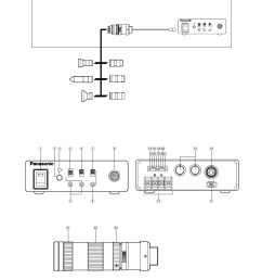 system block diagram major operating controls and their functions camera control unit gp  [ 954 x 1229 Pixel ]