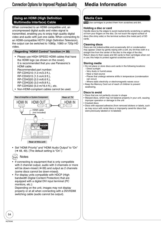 DMR-EA18 MANUAL PDF