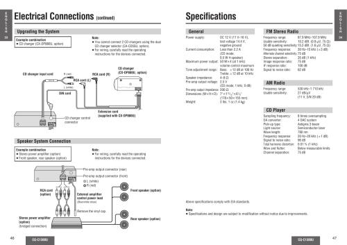 small resolution of  panasonic cq c1300u all product from panasonic on panasonic car radio manuals panasonic cq panasonic cq cm130u operating instructions manual