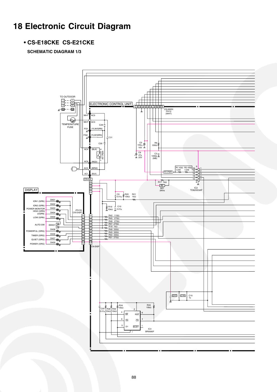 hight resolution of 18 electronic circuit diagram cs e18ck e cs e21cke schematic panasonic schematic diagrams tv