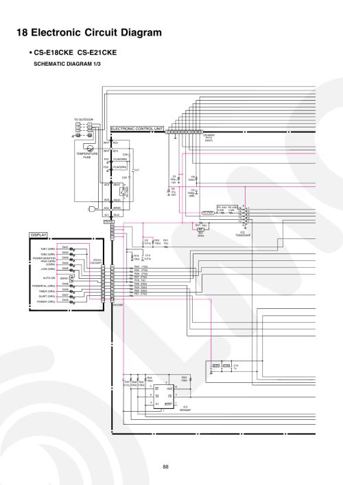 small resolution of 18 electronic circuit diagram cs e18ck e cs e21cke schematic diagram 1