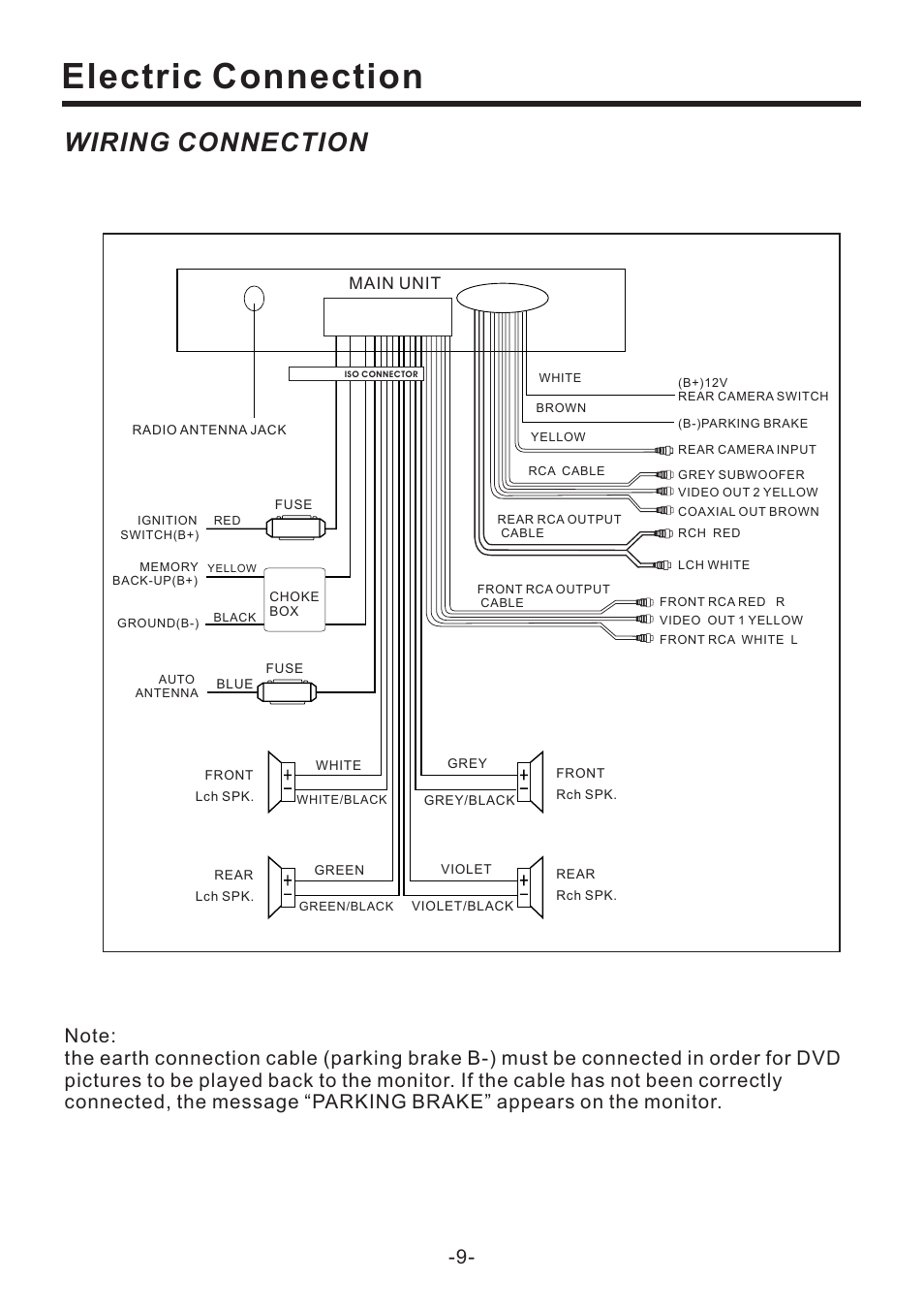 medium resolution of wiring diagram for pyle pld71mu wiring diagram official electric connection wiring connection main unit