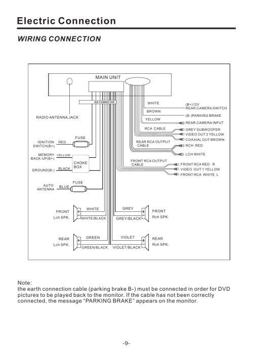 small resolution of wiring diagram for pyle pld71mu wiring diagram official electric connection wiring connection main unit