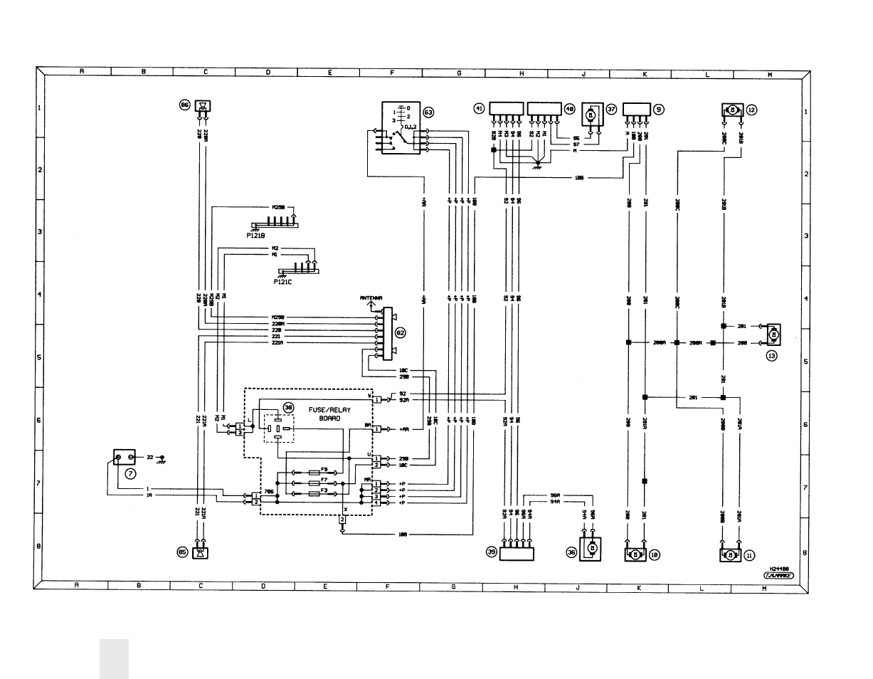 hight resolution of diagram 3a typical ancillary circuits central locking electric peugeot 206 wiring