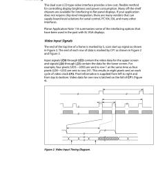 interfacing video input signals planar el640 480 af1 user manual page 9 17 [ 954 x 1235 Pixel ]