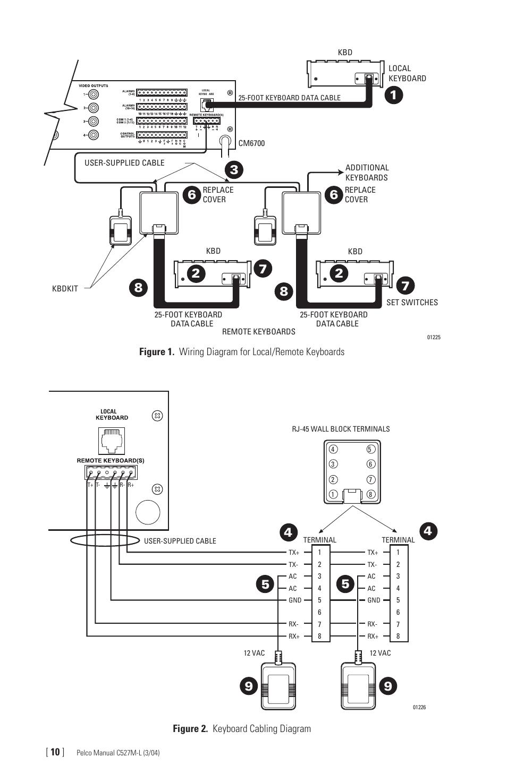 mk 937 keyboard wiring