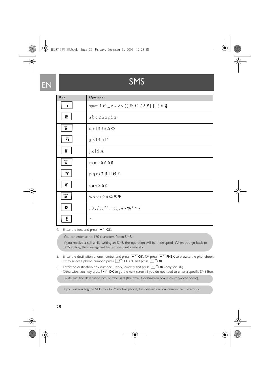 philips caller id box user manual