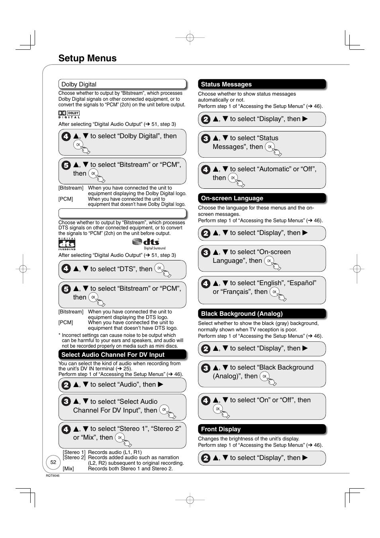 DMR-EZ28 MANUAL PDF