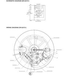schematic diagram wiring diagram panasonic sr ga721 user manual page 4 18 [ 954 x 1350 Pixel ]