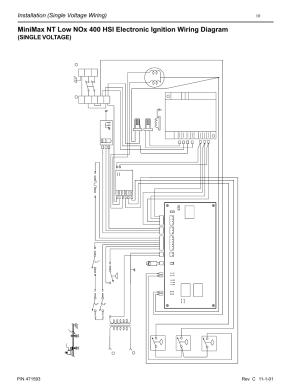 Installation (single voltage wiring), Single voltage