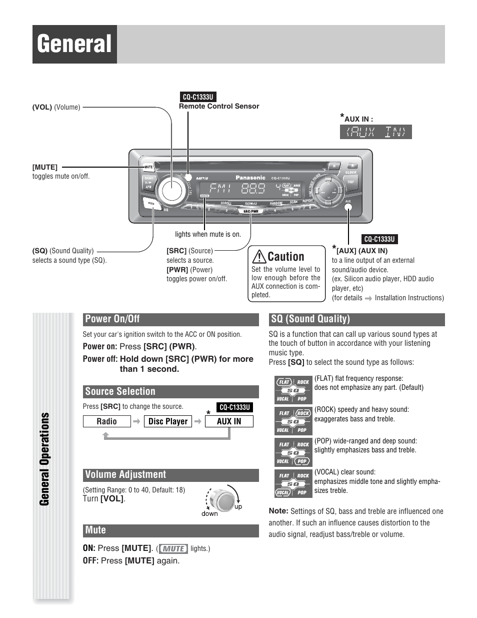 hight resolution of panasonic cq c u wiring diagram on panasonic car radio manuals panasonic car stereo auto