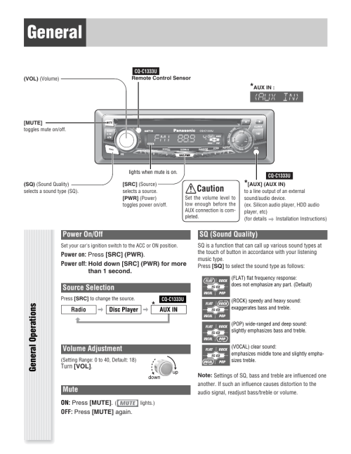 small resolution of panasonic cq c u wiring diagram on panasonic car radio manuals panasonic car stereo auto