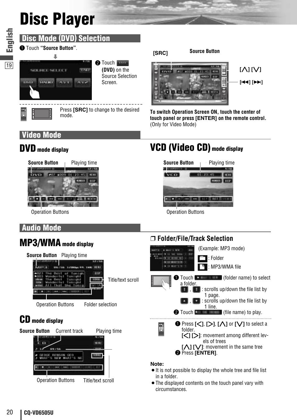 medium resolution of disc player mp3 wma vcd video cd english video