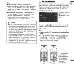 private mode english caution panasonic cq vd6505u user manual page 41 [ 954 x 1348 Pixel ]
