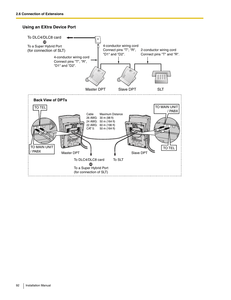 hight resolution of panasonic hybrid ip pbx kx tda50 user manual page 92 158