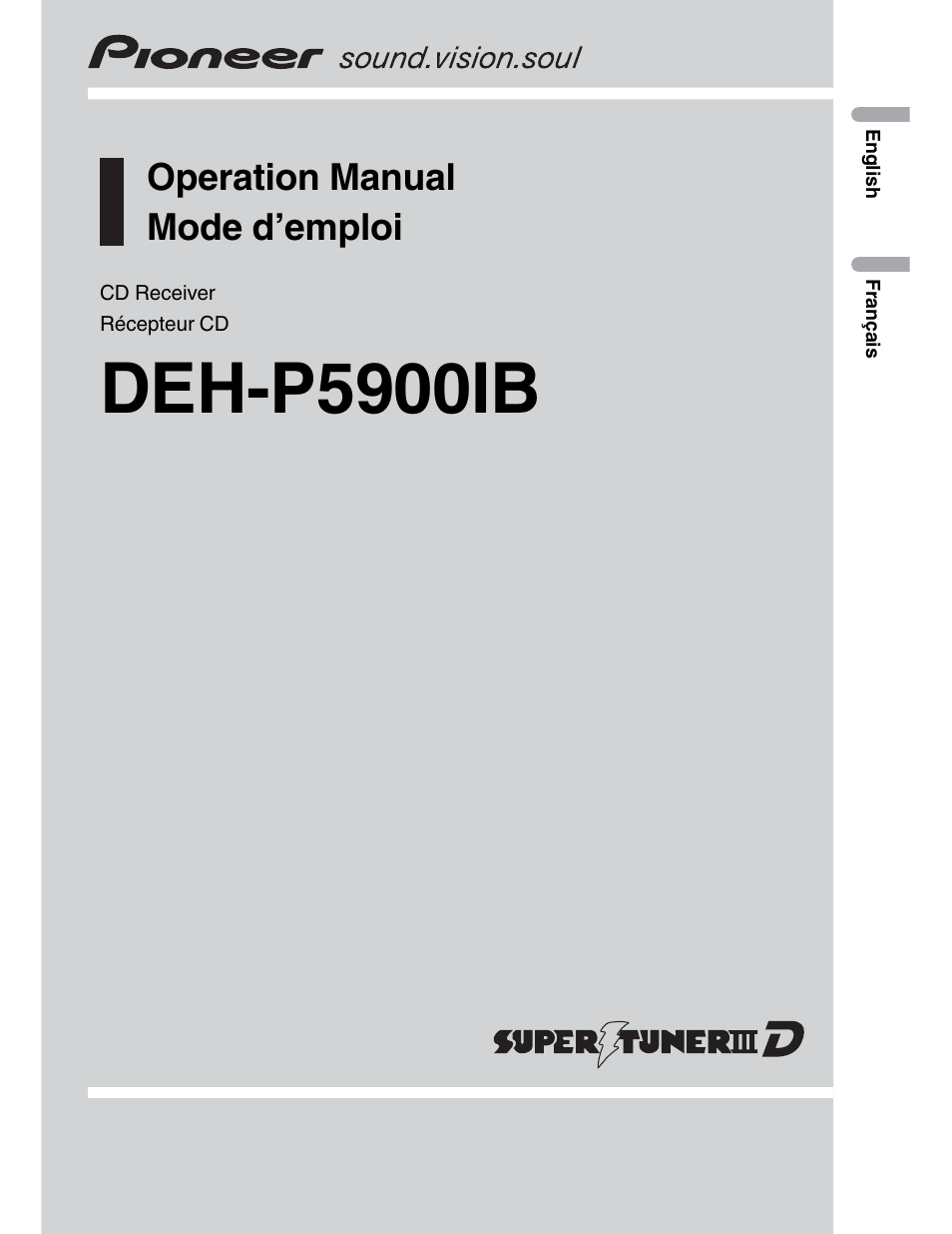 pioneer deh p5900ib wiring diagram relay off road lights user manual 72 pages