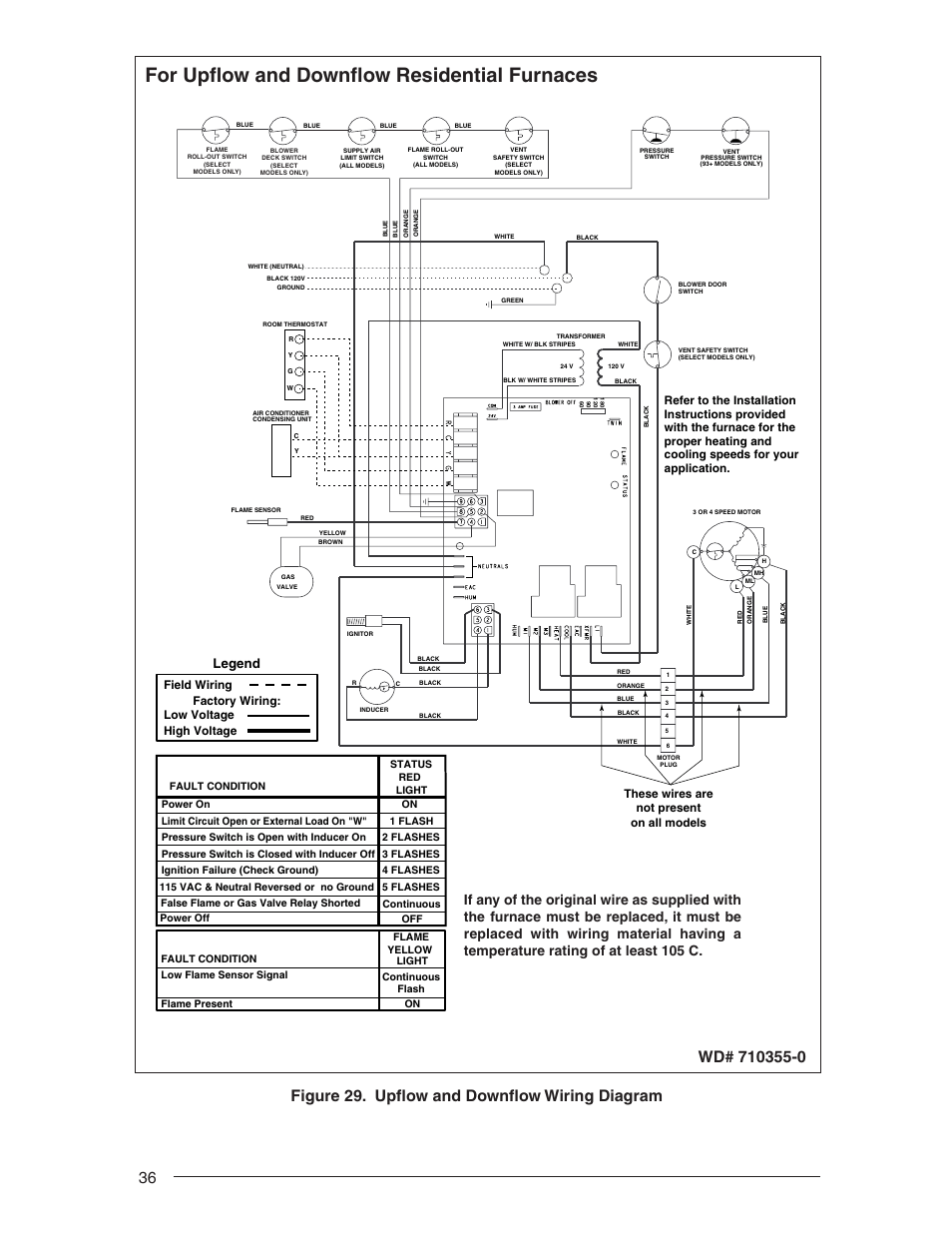 Luxaire Furnace Thermostat Wiring Diagrams Gas Color Code Heat Pump Diagram Heating And Air