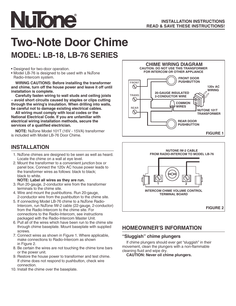Broan Doorbell Wiring Diagram 202 3 Door 1997 Suzuki King Quad
