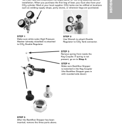 co2 tap tower installation english nostalgia electrics krs 2150 user manual page 12 20 [ 954 x 1412 Pixel ]