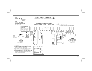 Xp400 wiring diagram | Napco Security Technologies XP400 User Manual | Page 27  28