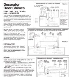 nutone door chime wiring diagram 32 wiring diagram honeywell doorbell chime wiring diagram 2 chime doorbell [ 954 x 1235 Pixel ]