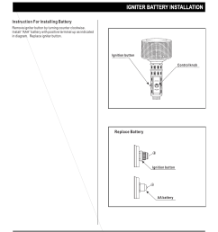 igniter battery installation napoleon grills propane patio heater srph01 user manual page 5 14 [ 954 x 1235 Pixel ]