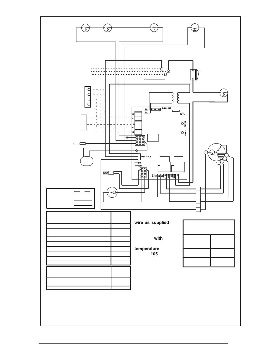 33 figure 30. downflow furnace wiring diagram, Legend