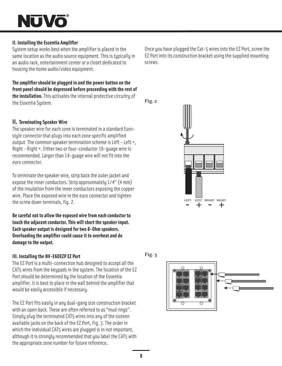 hight resolution of 8 ohm speaker wiring