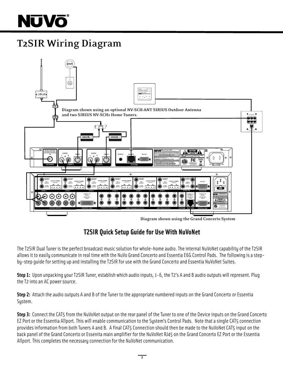 hight resolution of wiring diagram quick setup t2sir wiring diagram t2sir quick setup guide for use