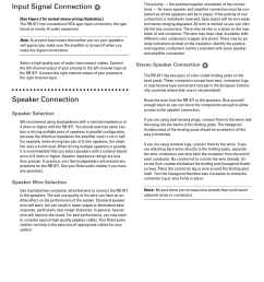 english input signal connection speaker connection rotel rb 971 user manual page 7 11 [ 955 x 1272 Pixel ]