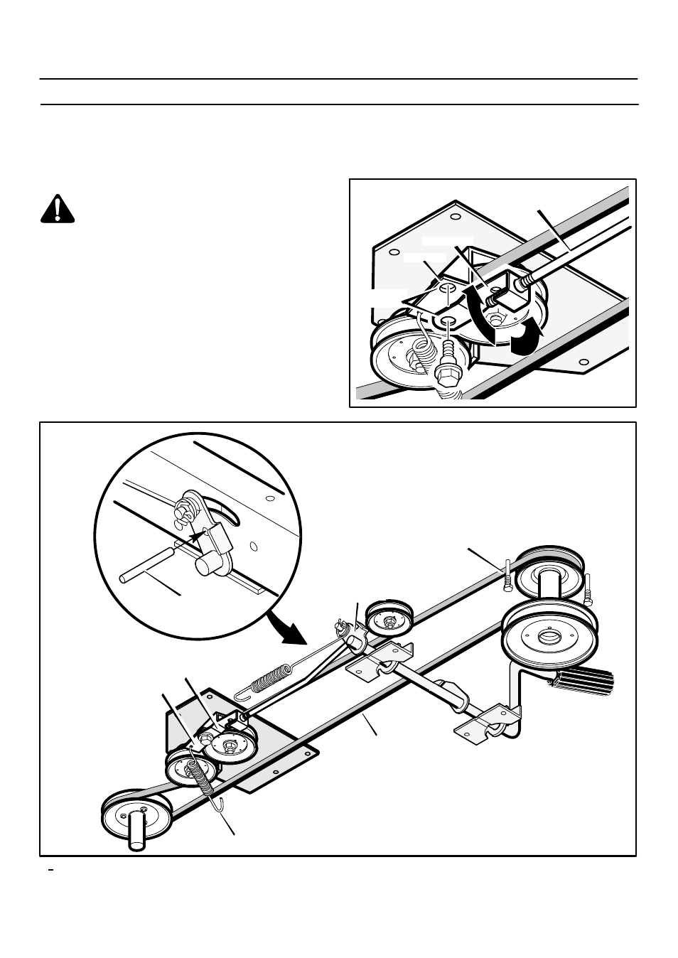 Maintenance, How to check and adjust the motion drive belt